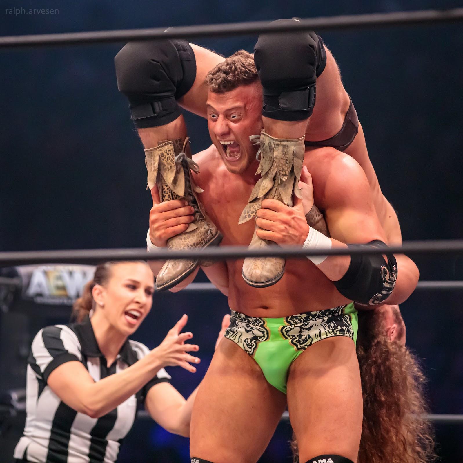 All Elite Wrestling | Texas Review | Ralph Arvesen
