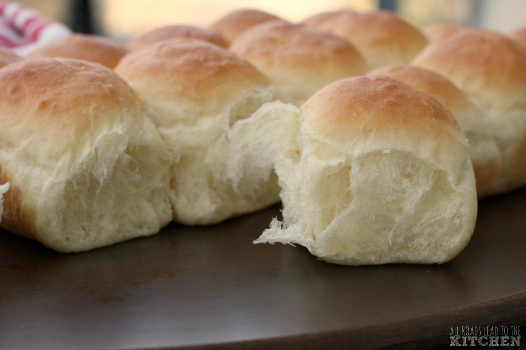 Soft, Pull-Apart Dinner Rolls