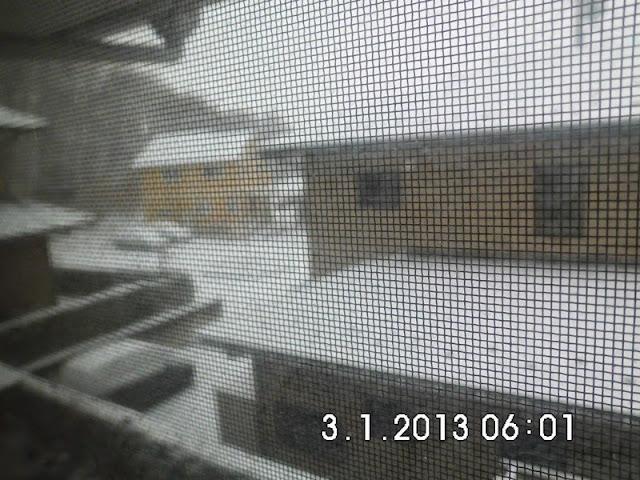Salju pertama di Jepang