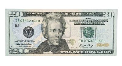 picture of 20 dollar bill