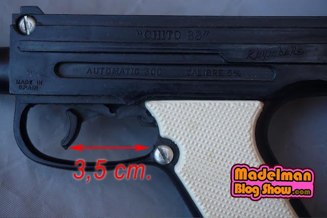 """Pistola de Juguete """"Chito 88""""  AUTOMATIC 300 de Ruymhere 2"""