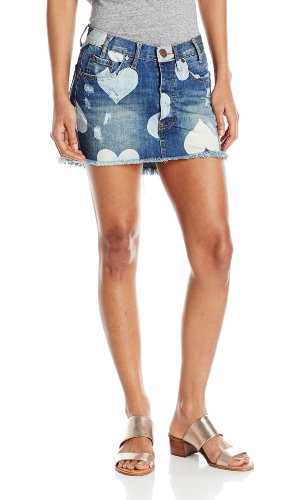 Cupid denim skirt