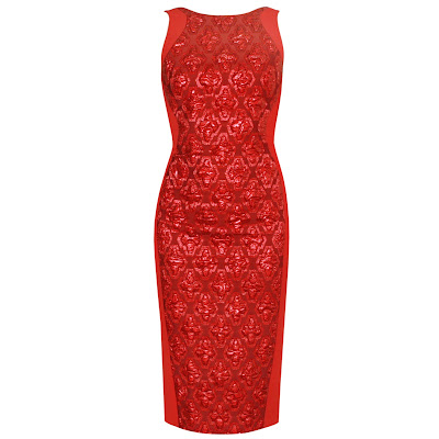 antonio berardi red tubino zipper dress