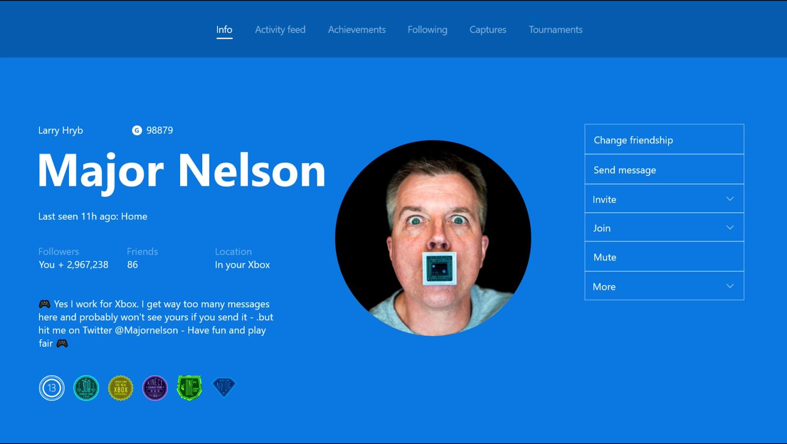Xbox nos ofrece streaming conjunto, gamerpic personalizadas, asociar un mando con una cuenta...
