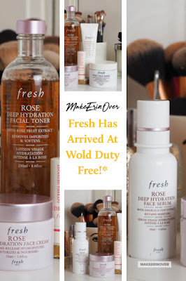 Fresh Has Arrived At Wold Duty Free!* Rose, Deep Hydration