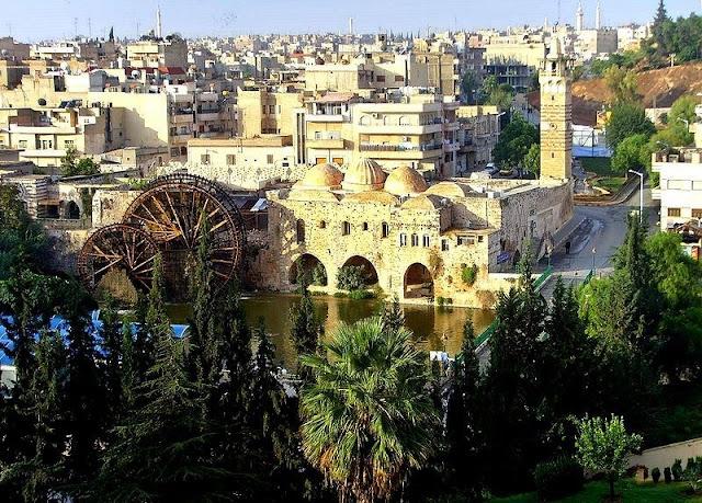 سوريا,حلب,حماة,دمشق,ابن بطوطة