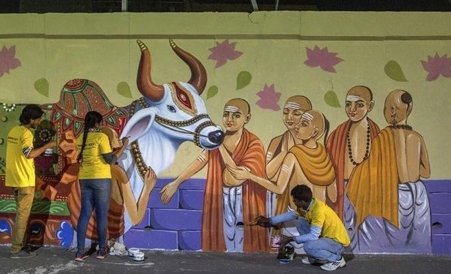 Paint my city in Prayagraj