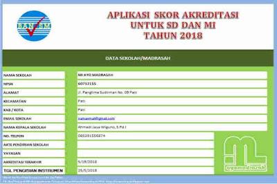 Aplikasi Penghitung Skor Akreditasi 2018
