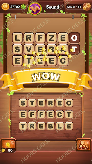 Word Bright Level 155 Answers, Cheats, Solutions, Walkthrough for android, iphone, ipad and ipod