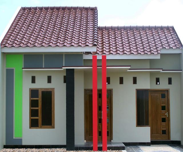 bentuk rumah kampung sederhana