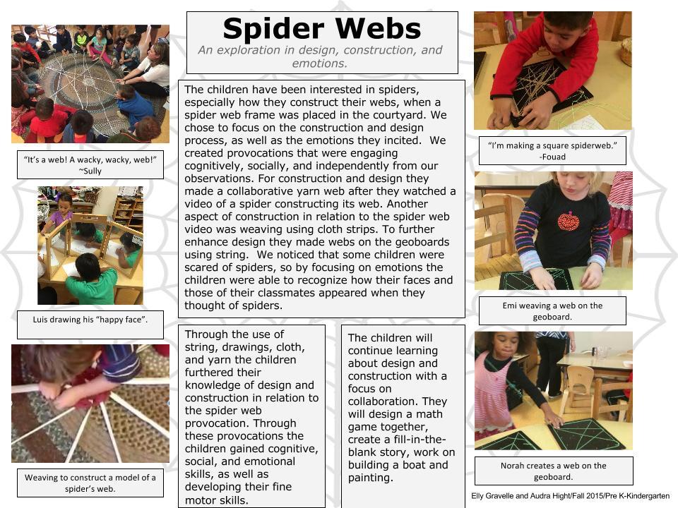 kindergarten  prek class   documentation panels from