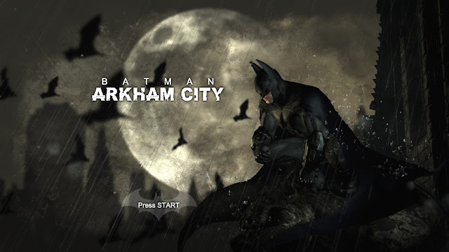 Batman Arkham City PC title screen