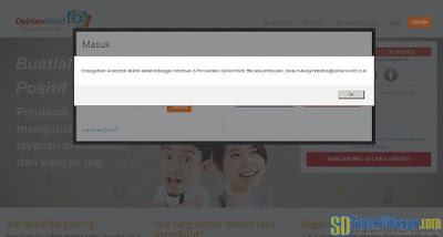 Ilustrasi akun survey online yang dibanned | SurveiDibayar.com