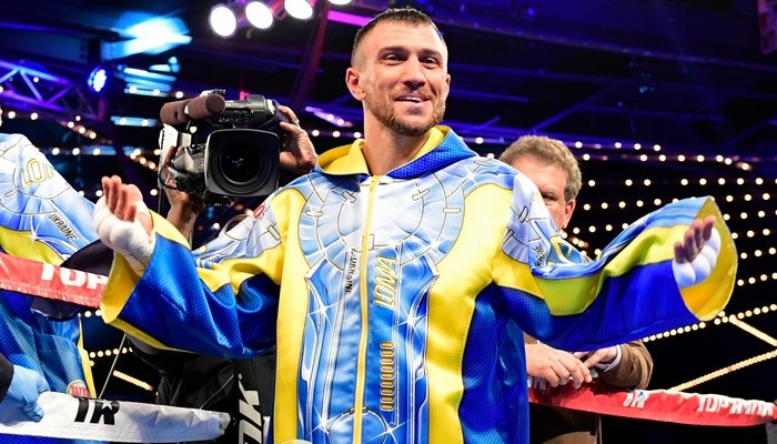 Ломаченко занял первое место в рейтинге лучших боксеров мира по версии ESPN