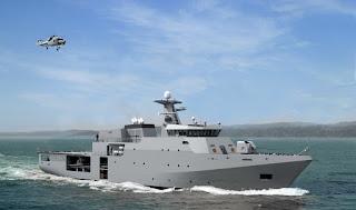 Tunisian navy Damen Multi Service Offshore Patrol Vessel 1400 (MSOPV)