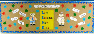 photo of New Kids bulletin board
