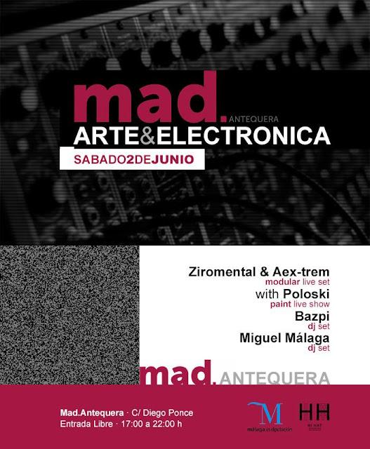 Arte & Música Electrónica en el MAD de Antequera