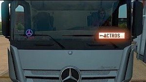 Nameplate & Telepass mod for Mercedes MP4
