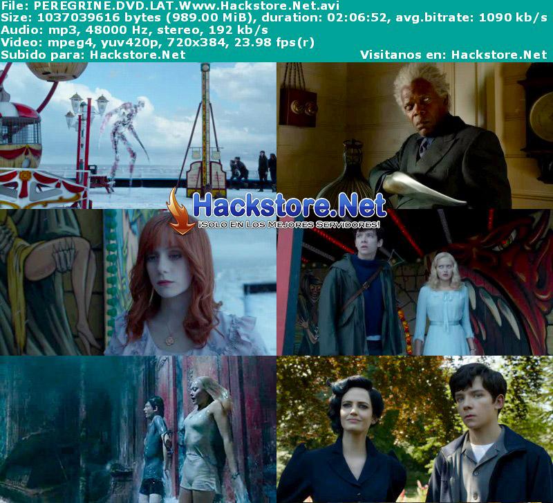 Capturas de Miss Peregrine y los Niños Peculiares (2016) DVDRip Latino + Subs