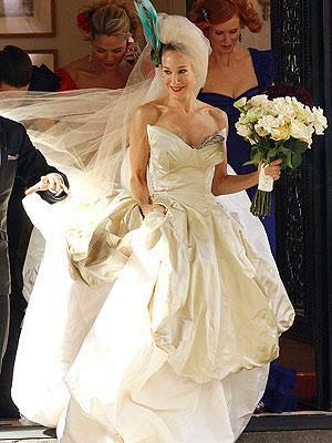 Misha Bridal Dresses Carrie Bradshaw S Sex And The City Wedding