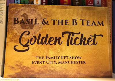 Golden Ticket for Bionic Basil and The B Team