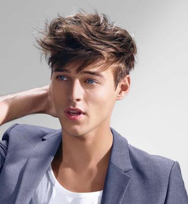Model Rambut Maskulin Cocok Untuk Pria Gemuk Contoh Gaya Rambut - Gaya rambut harajuku pendek pria
