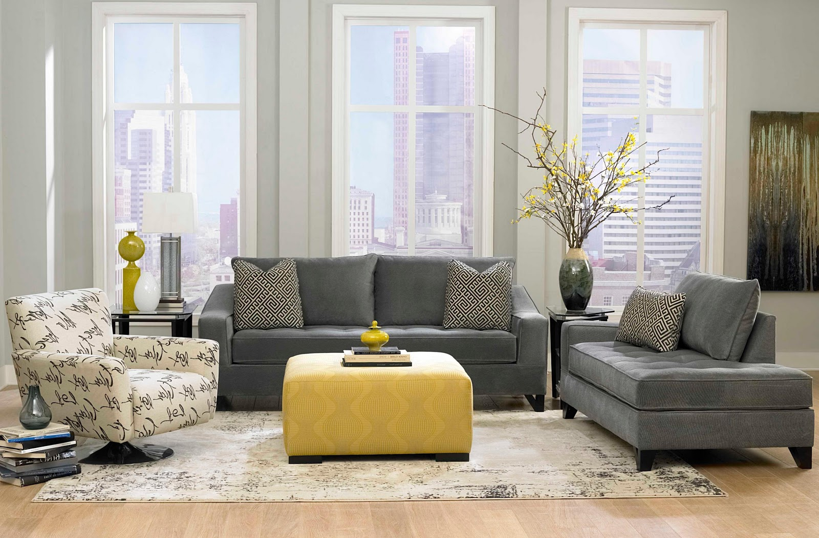 Swivel Chairs for Living Room Contemporary - FELISH HOME ...