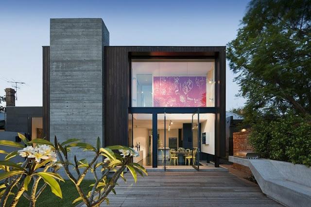 Ultra modern house facades