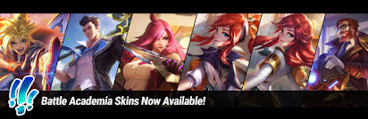 Surrender at 20: Battle Academia Skins Now Available!
