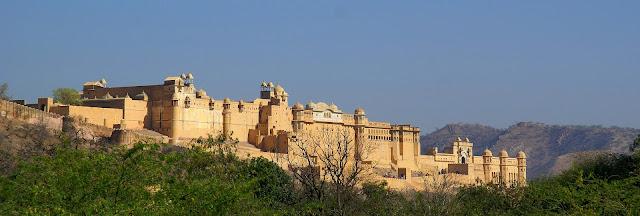 Amber Kalesi Jaipur Hindistan