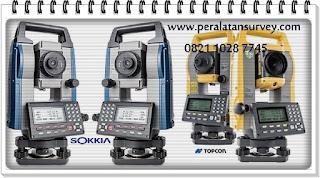 Total Station Topcon GM-100 dan Sokkia IM-100