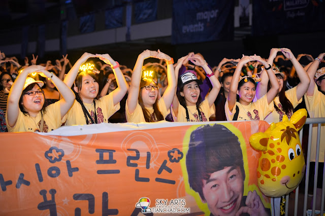 Kwang Soo's fans from Hong Kong!! Lee Kwang Soo Fan Meeting in Malaysia