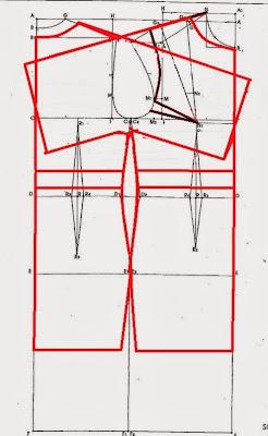 modello abito tubino con maniche