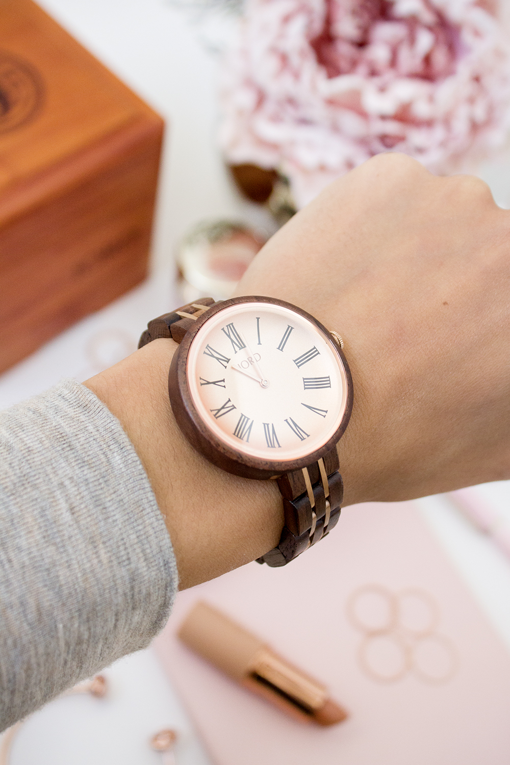 Cassia Wooden Watch