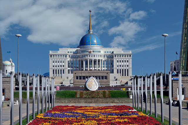 The Ak Orda Presidential Palace