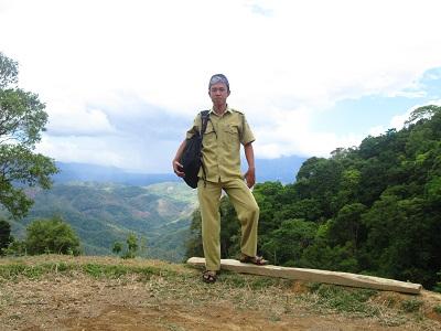 Foto Saya Waktu Tiba diPuncak Gunung