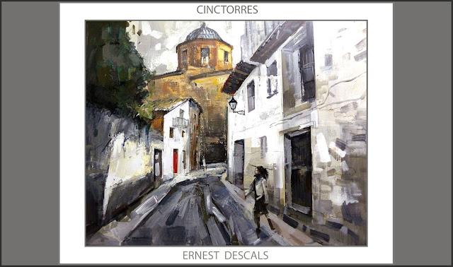 CINCTORRES-PINTURAS-MAESTRAT-PINTURA-MAESTRAZGO-CASTELLO-PINTURES-CARRERS-ESGLESIA-ELS PORTS-ARTISTA-PINTOR-ERNEST DESCALS-