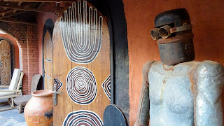 Big art in Mali