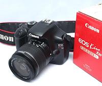 Canon eos Kiss X50 - Kamera Bekas