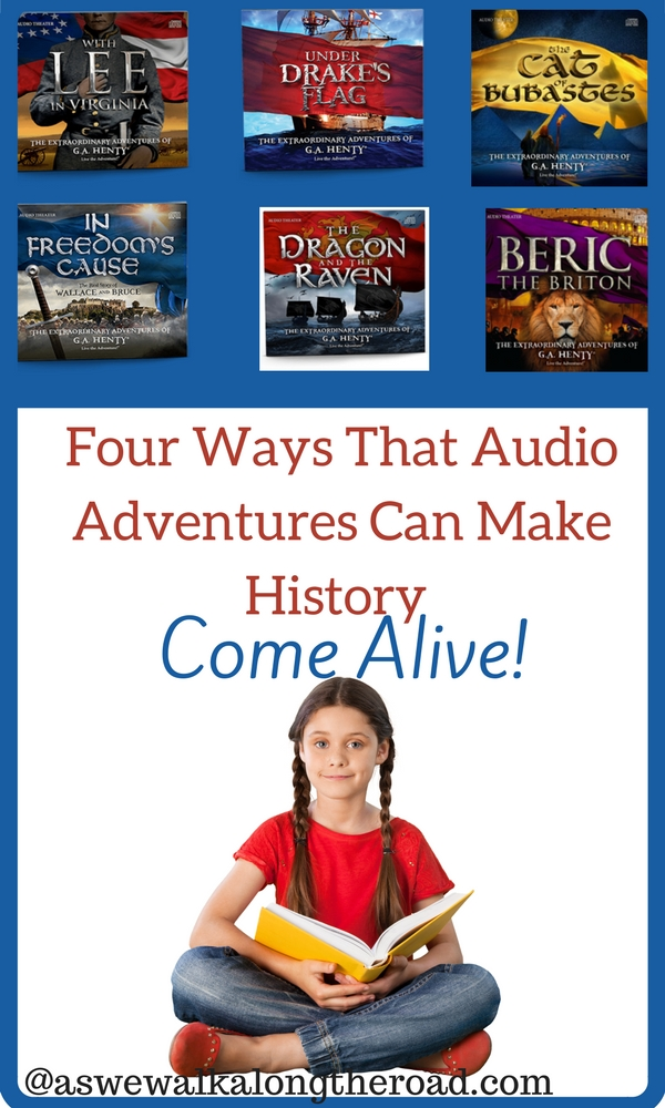 Audio adventures can make history come alive