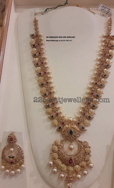 Sri Mahalaxmi Jewels Latest Set Jewellery Designs