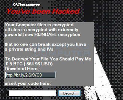 Βρήκαμε λύση για να μην πληρώσετε λύτρα σε bitcoin αν κολλήσατε Ransomware - ιό κρυπτογράφησης DNRansomware
