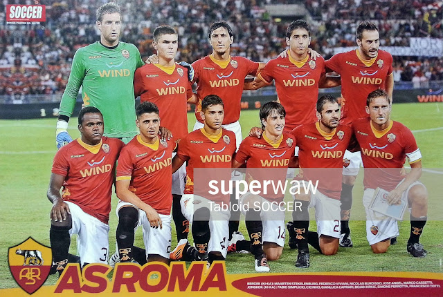 AS Roma Team Squad 2011