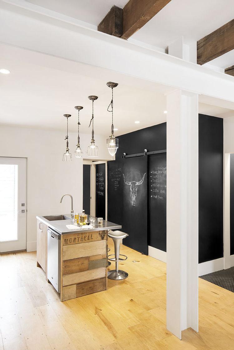... Der Küchenzeile Beinhaltet Spüle Und umbau küche ins wohnzimmer