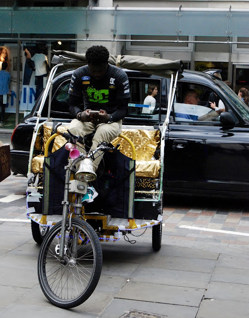 Tuk Tuk taxi London