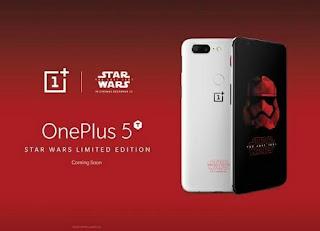 ون بلس تعلن رسميا عن نسخة Star Wars من هاتف OnePlus 5T الرائد، OnePlus 5T Star Wars Edition، مواصفات OnePlus 5T Star Wars Edition، مميزات OnePlus 5T Star Wars Edition، صور OnePlus 5T Star Wars Edition، هاتف OnePlus 5T Star Wars Edition، جهاز OnePlus 5T Star Wars Edition