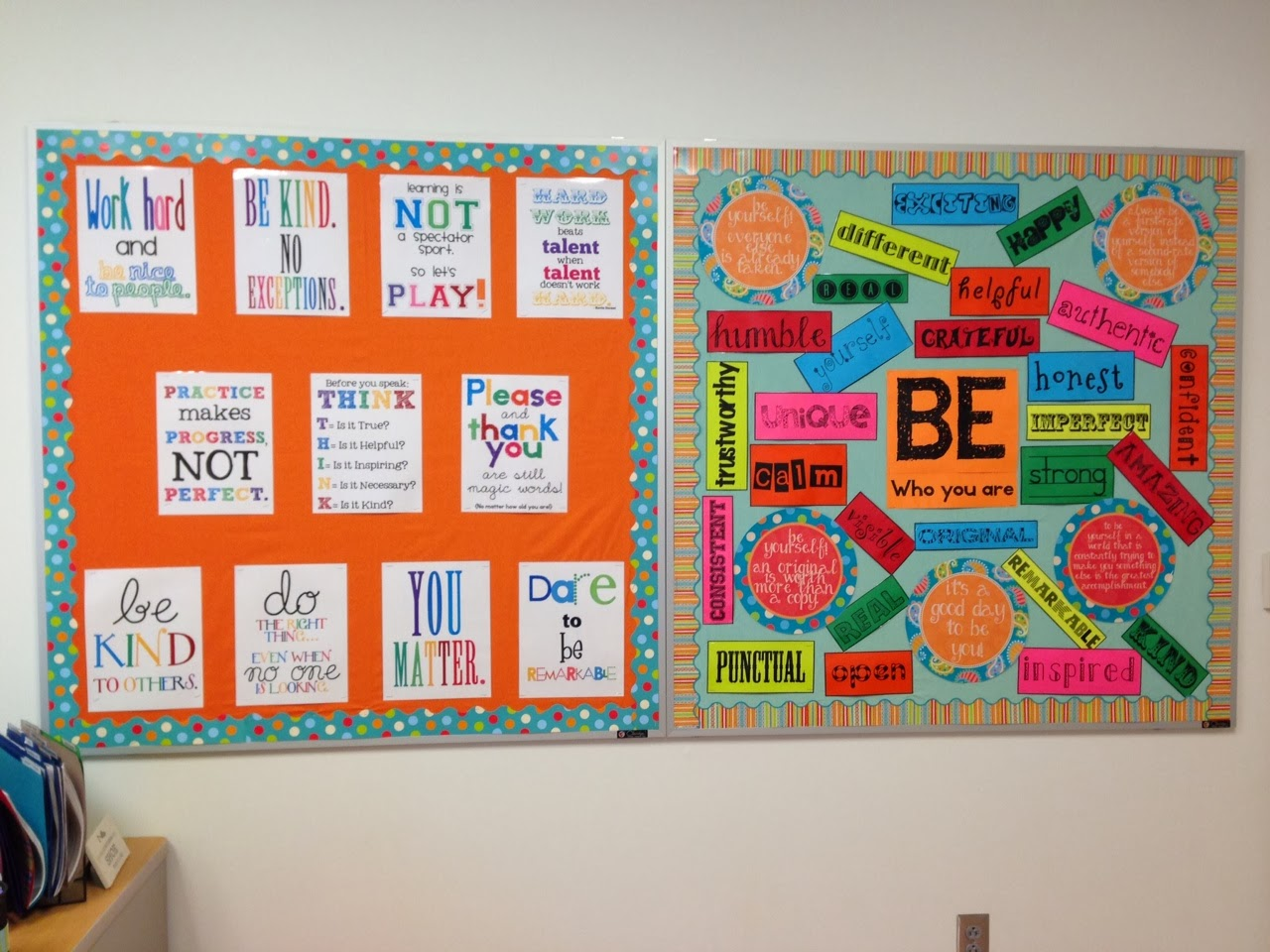 Bulletin Board Craft To Show Student Work