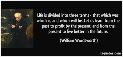 thinking quotes: life is divided into three term that which was, which is and which will be