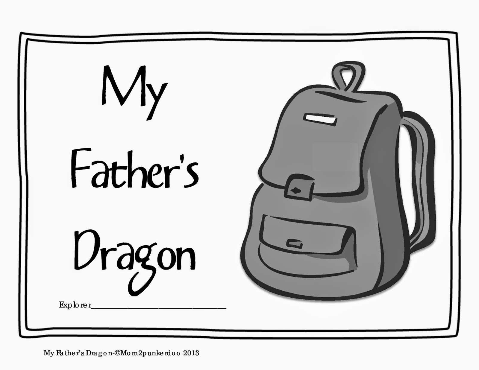 my father's dragon literature unit