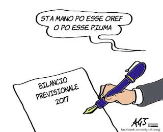 oref, bilancio roma, raggi, vignetta, satira